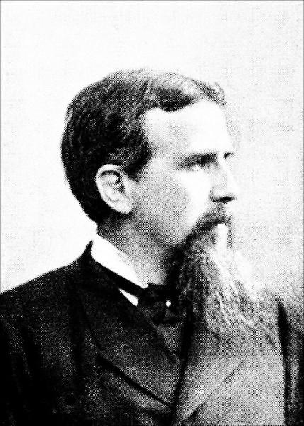 Friedrich Ratzel, um dos primeiros pensadores a formular uma teoria determinista contemporânea.