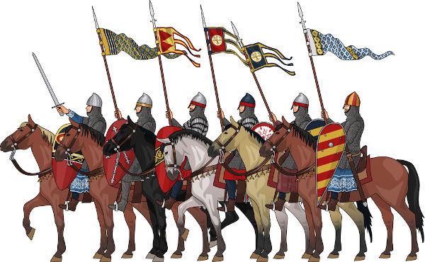 A relação de suserania e vassalagem existente entre reis e nobres medievais era uma das principais formas de organização política na Idade Média.