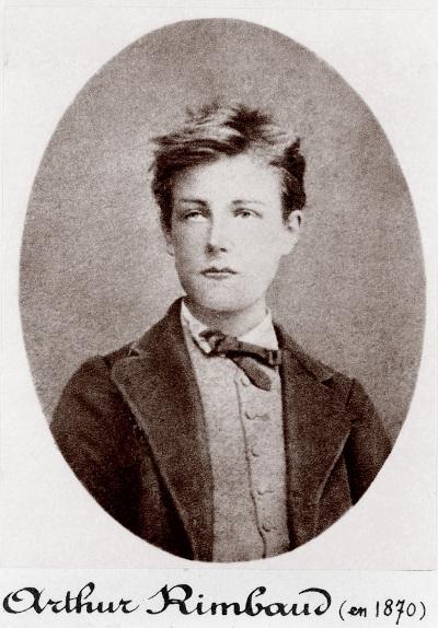 Arthur Rimbaud é um dos nomes mais importantes do simbolismo.