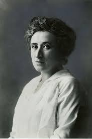 Rosa Luxemburgo, filósofa, economista e militante comunista polonesa.