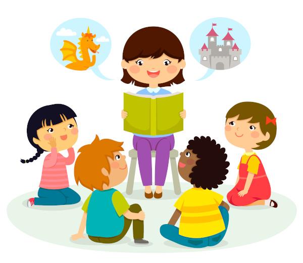 Ler para as crianças é uma forma de despertar nelas o gosto pela leitura.