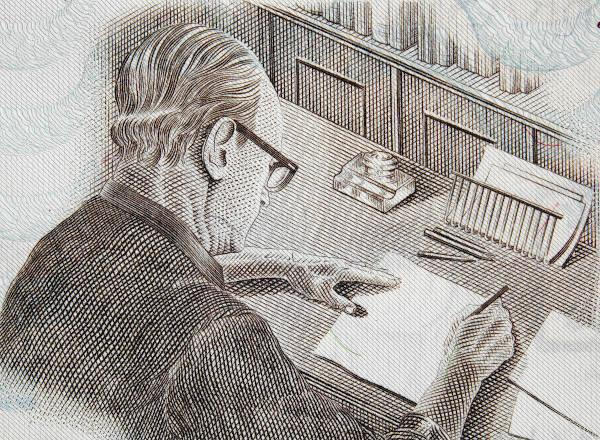 Carlos Drummond de Andrade é um dos grandes nomes da literatura brasileira.