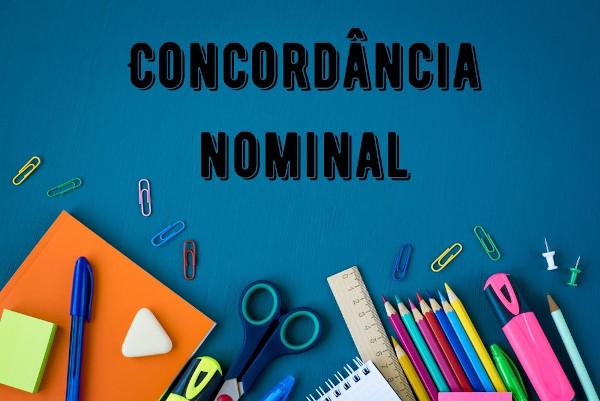 A concordância que envolve o substantivo, adjetivo, pronome, artigo e numerais é denominada concordância nominal.