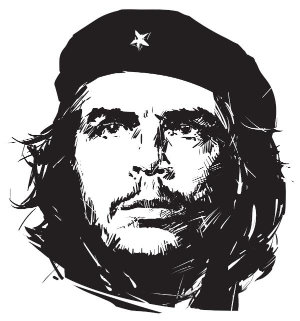 """Ernesto """"Che"""" Guevara, Raul Castro, Fidel Castro e Camilo Cienfuegos foram os responsáveis pela Revolução Socialista em Cuba."""