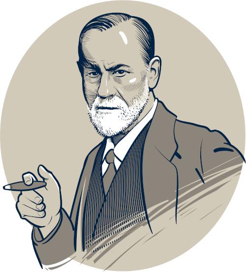 O estudo sobre o inconsciente, realizado por Sigmund Freud, influenciou os artistas expressionistas.