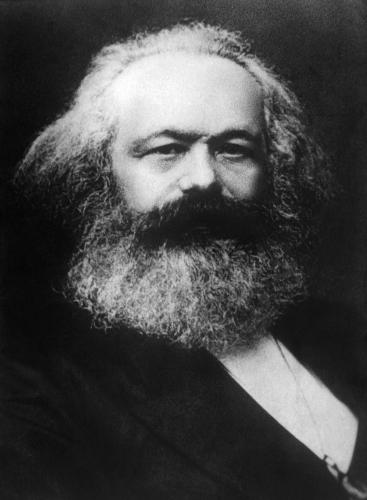 Karl Marx, um dos expoentes da noção de consciência de classe.
