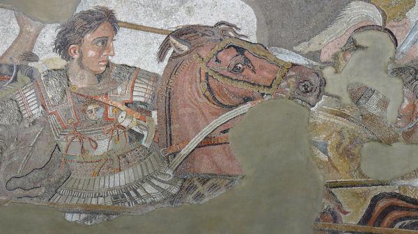 No século IV a.C., Alexandre, o Grande, rei da Macedônia e da Grécia, tornou-se responsável por expandir o território dos gregos pelo Oriente.