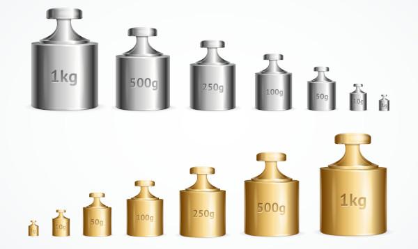 As unidades de medida de massa variam conforme o objeto a ser pesado.
