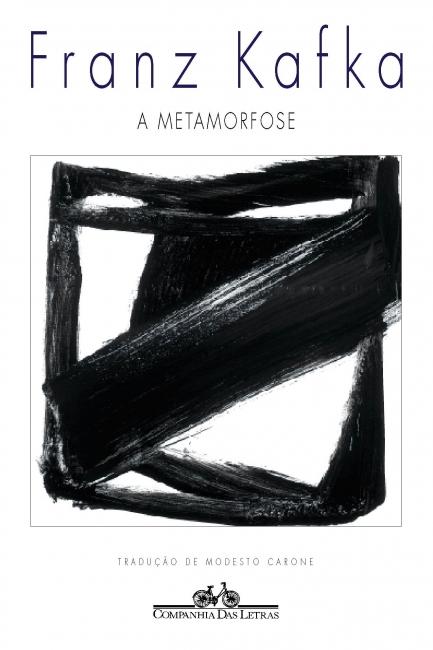 Capa do livro A metamorfose, de Franz Kafka, publicado pela editora Companhia das Letras. [1]