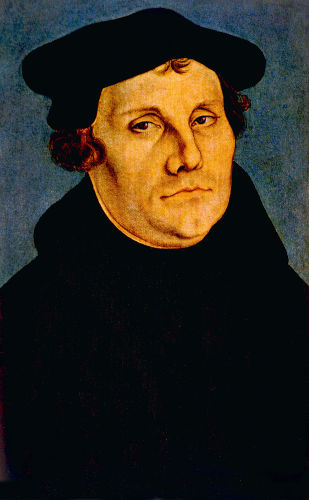 O monge agostiniano Martinho Lutero não concordava com as práticas da Igreja e por isso teceu críticas por meio das 95 teses.
