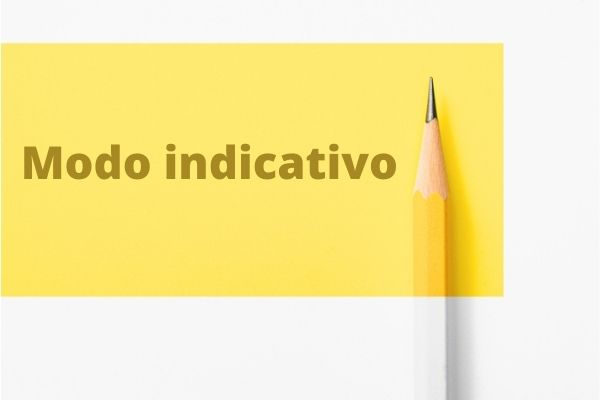 O indicativo é um modo verbal que expressa certeza do enunciador.