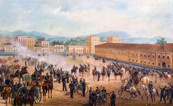 A crise da monarquia fez com que civis e militares organizassem um golpe para derrubar a monarquia, em 15 de novembro de 1889.[1]