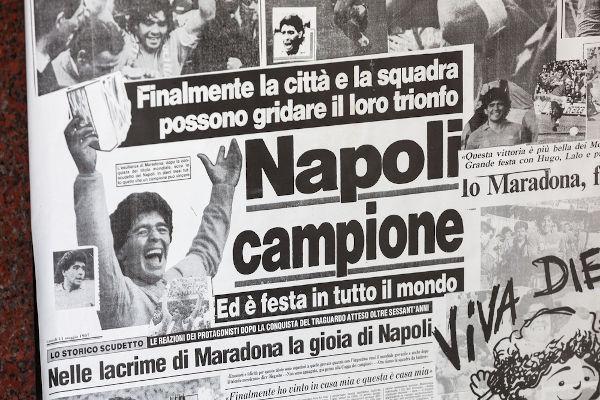 Com Maradona, a equipe do Napoli conquistou os maiores títulos de sua história.[2]