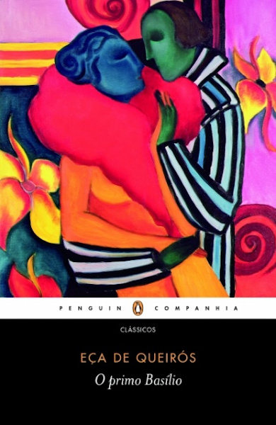 Capa do livro O primo Basílio, de Eça de Queirós, publicado pela editora Companhia das Letras. [1]