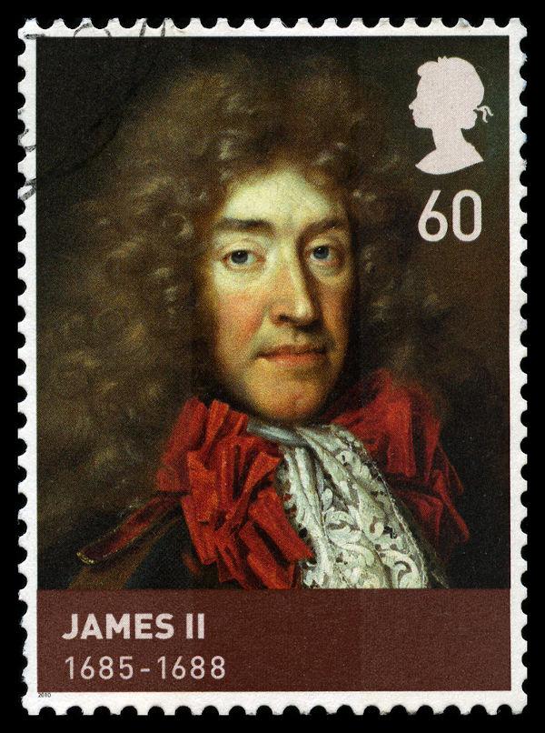 Jaime II foi deposto com a Revolução Gloriosa. [1]
