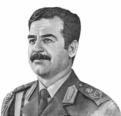 O governo de Reagan foi responsável por apoiar o ditador iraquiano Saddam Hussein durante a Guerra Irã-Iraque.