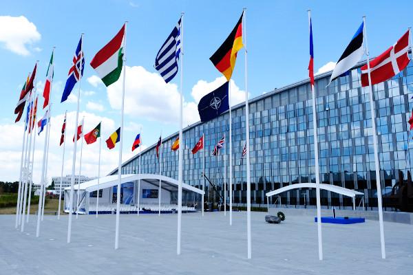 Sede da Otan, em Bruxelas, Bélgica. [1]