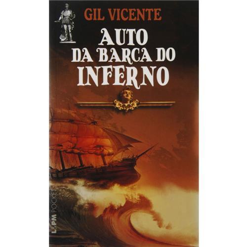 Capa do livro Auto da barca do inferno, de Gil Vicente, publicado pela editora L&PM.[1]