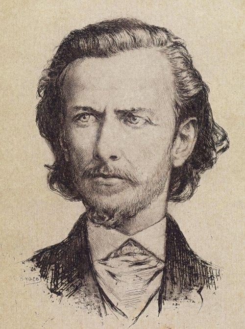 """""""O poeta Fagundes Varela"""", obra de Modesto Brocos Gómez (1852-1936)."""