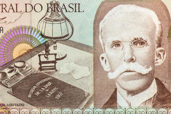 Rui Barbosa foi um dos grandes políticos e intelectuais brasileiros do começo do século XX.