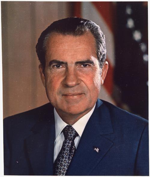 Richard Nixon foi o 37º presidente dos Estados Unidos, entre 1969 e 1974. [1]
