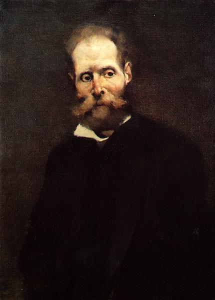 """""""Antero de Quental"""", obra de Columbano Bordalo Pinheiro (1857-1929)."""