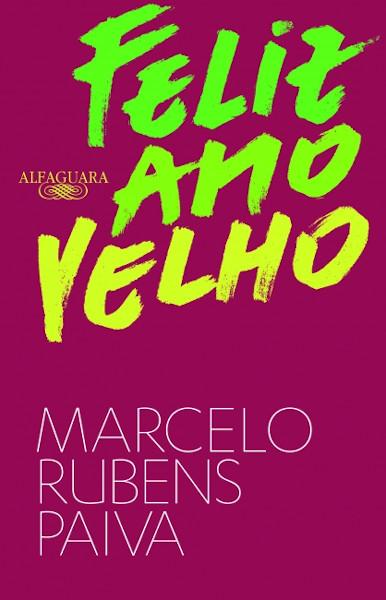 Capa do livro Feliz ano velho, de Marcelo Rubens Paiva, publicado com o selo Alfaguara, do Grupo Companhia das Letras.[2]
