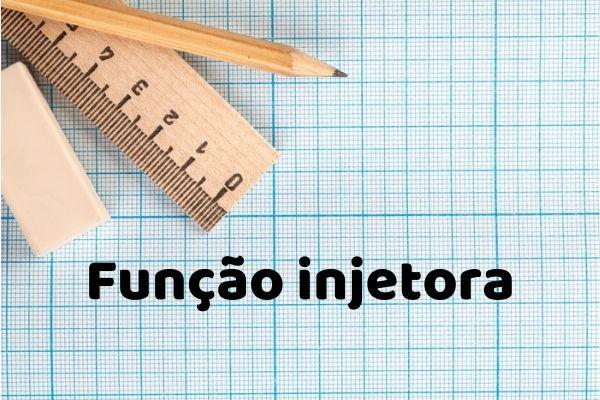 A função injetora apresenta características particulares.