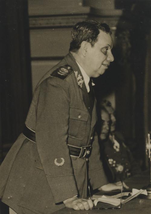 O general Góis Monteiro, em 1945, denunciou a farsa do Plano Cohen e apontou outros militares que participaram da elaboração do documento falso.
