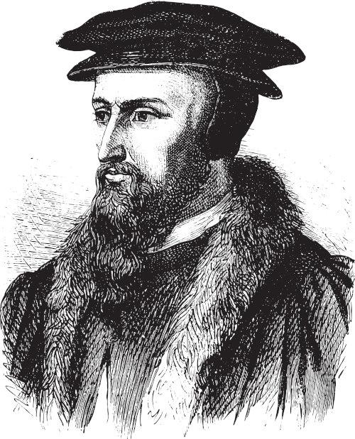 João Calvino elaborou uma doutrina religiosa que afirmava que Deus já havia estabelecido quem seria salvo e quem seria condenado.