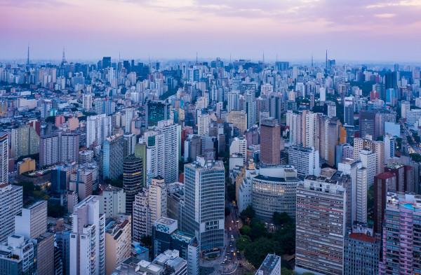 O município de São Paulo é o mais populoso do estado e também do Brasil.