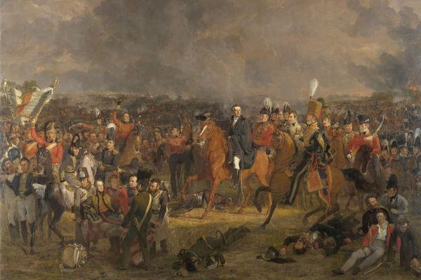 A Batalha de Waterloo foi travada em 18 de junho de 1815 e a derrota de Napoleão se consolidou com a chegada das tropas de Blücher.