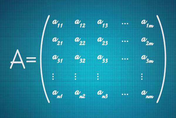 O teorema de Binet facilita o cálculo do determinante de uma matriz produto.