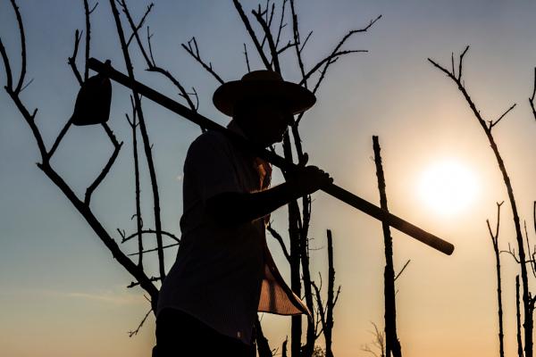 A reforma agrária, as relações de trabalho no campo, a concentração fundiária e a violência no campo são temáticas pertencentes à questão agrária.