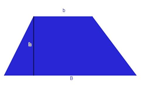 Exemplo de um trapézio.