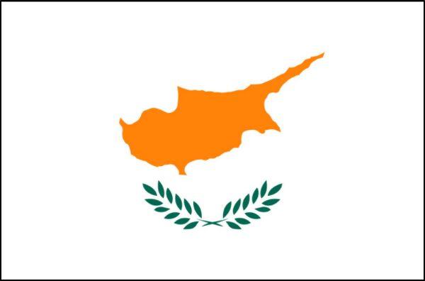 Bandeira do Chipre.