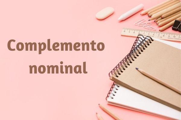 O complemento nominal acompanha e completa o sentido de substantivos abstratos, adjetivos e advérbios.