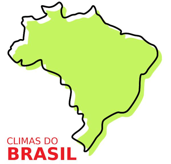 O Brasil conta com seis tipos climáticos.