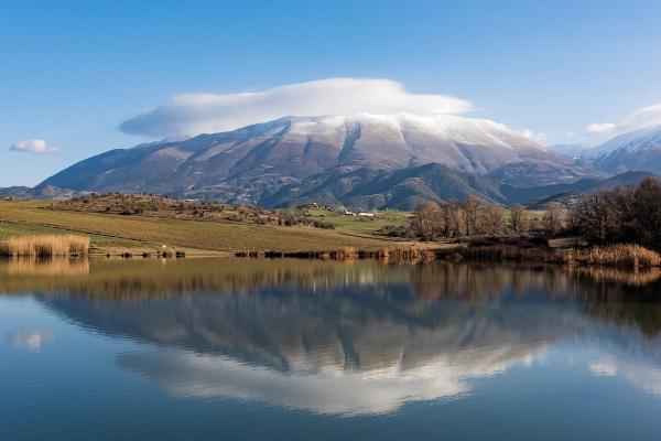 Monte Olimpo, na Grécia.