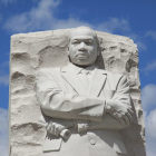 Estátua representando Martin Luther King