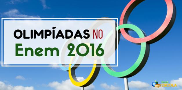 Olimpíadas no Enem
