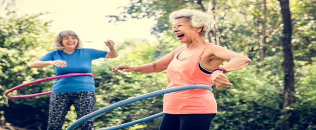 Profissionais de educação física e idosos