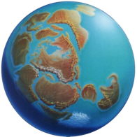 Os continentes que conhecemos nem sempre tiveram a configuração atual.