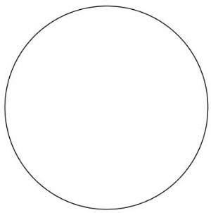Conheça o conceito de circunferência e o de círculo.