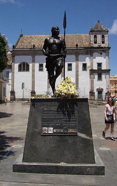 Monumento a Zumbi dos Palmares em Salvador, Bahia*