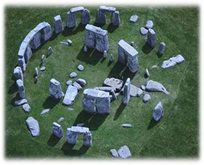 Um dos mais fascinantes Dolmens: Santuário de Stonehenge - Sul da Inglaterra