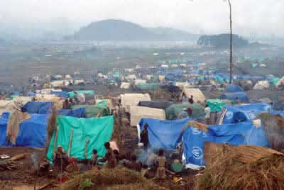 As condições de moradia, alimentação e saúde do povo africano são bastante precárias.