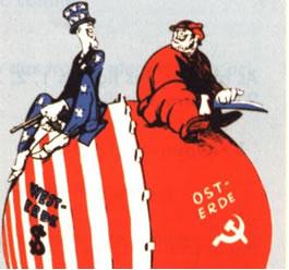 A influência geopolítica dos EUA e da URSS