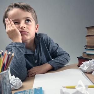 Criança frustrada