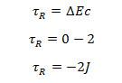 Cálculo do trabalho realizado pela força resultante